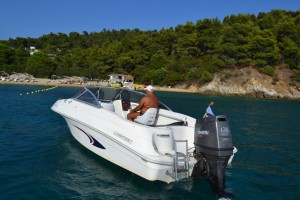 Odyssey boat 120 hp , Tohatsu 2 stroke…