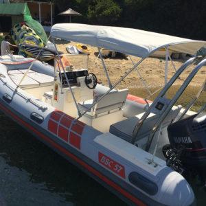 Rib 6.00m with Yamaha 150 hp