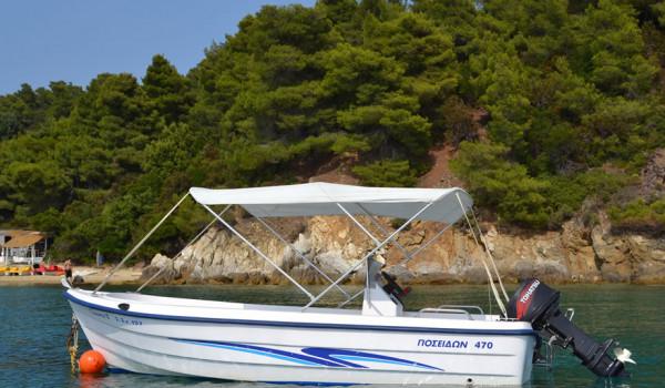 TZEMA II -Poseidon 4.70 m – 30 hp…