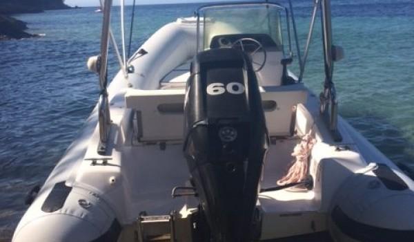 Gilla″ 4 85 meters with 60 hp | 4 Stroke | Mercury